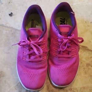 Pink Nike Free RN